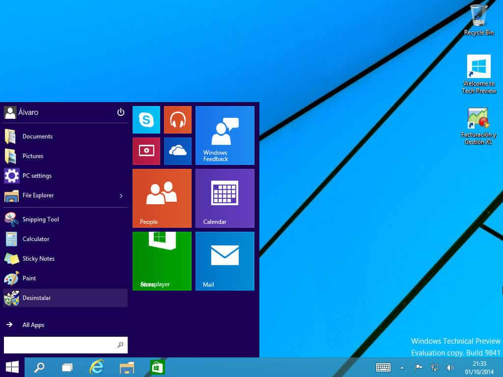 Windows 10 tecnical preview